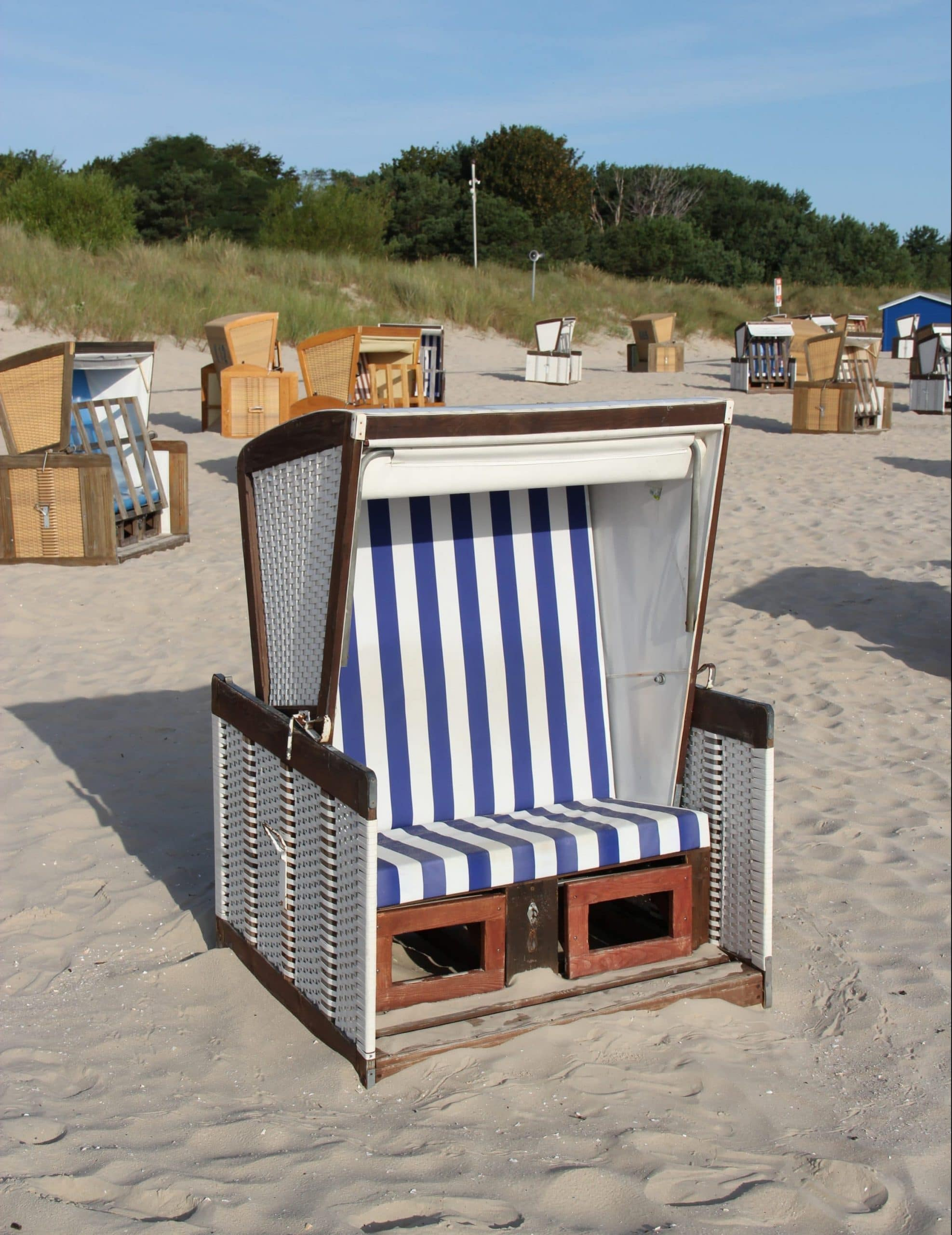 Strandkorb mieten Usedom