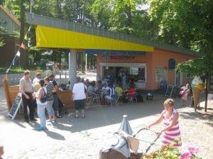 Hundestrand in Koserow. Vermieter: Backfischking