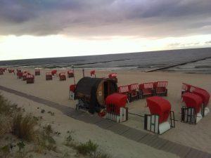 Saunafass am Hundestrand in Koserow mieten. Vermieter: Backfischking